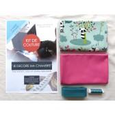 Kit de couture - Je décore ma chambre - Facile avec tutoriel pour apprendre à coudre