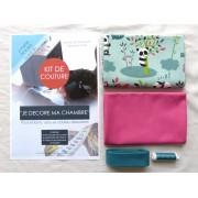 Kit de couture - Je décore ma chambre - Petit panda
