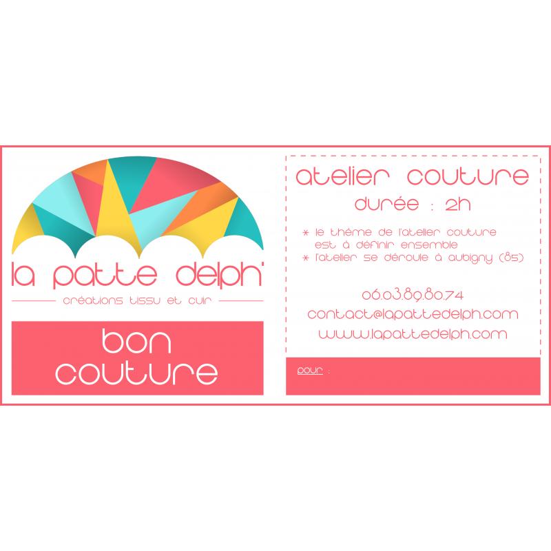 Bon cours de couture Vendée - 2H - Thème au choix