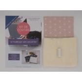 Kit de couture - Je fabrique mes lingettes - Facile avec tutoriel pour apprendre à coudre