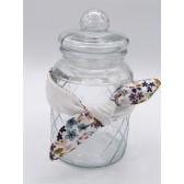 Les jolies bandeaux - Blanc fleuri : double gaze de coton