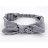 Les jolies bandeaux - Gris pailleté : élastique pour la tenue dans les cheveux