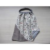 Serviette élastique éponge - Petit lapin. Imperméable en tissu enduit
