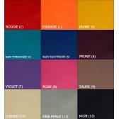 Chaussons en cuir enfant et adulte - Choix des couleurs. A personnaliser