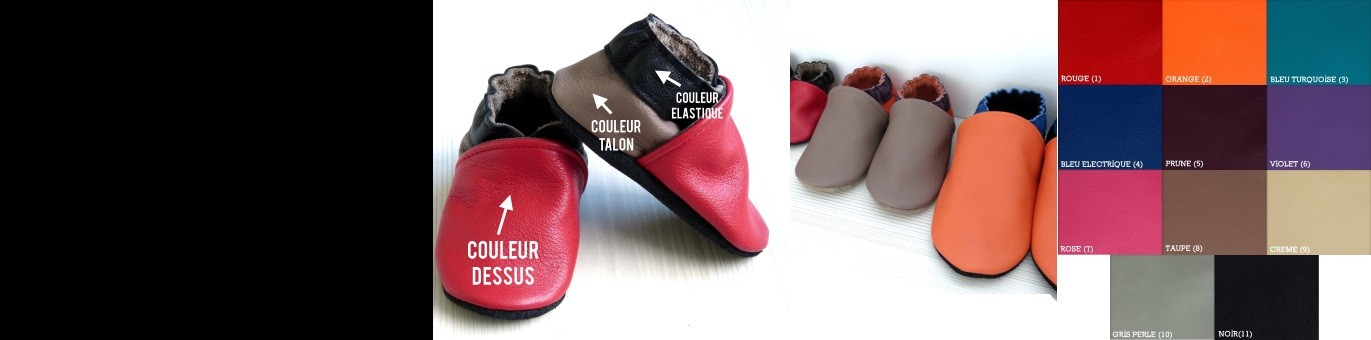 Créez vos chaussons !